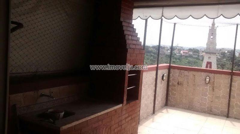 Cobertura duplex, 2 quartos, terraço, 1 vaga , 24 de Maio, Engenho Novo, Rio de Janeiro, RJ - 000365 - 1